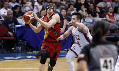 Tiebreaker Times Paul Desiderio on being schooled by UP coach Alex Cabagnot: 'Kinain tayo ng buhay' Basketball News PBA  San Miguel Beermen PBA Season 44 Paul Desiderio Blackwater Elite Alex Cabagnot 2019 PBA Philippine Cup