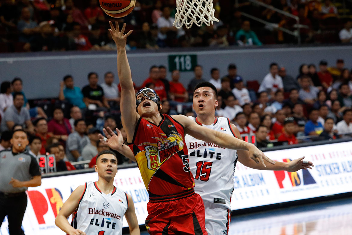 Tiebreaker Times Alex Cabagnot returns as San Miguel gets back on track Basketball News PBA  Terrence Romeo San Miguel Beermen Roi Sumang PBA Season 44 Mike DiGregorio Leo Austria June Mar Fajardo Chris Ross Bong Ramos Blackwater Elite Alex Cabagnot 2019 PBA Philippine Cup