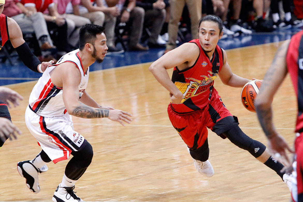 Tiebreaker Times Terrence Romeo finally gets his wish -- a win with San Miguel Basketball News PBA  Terrence Romeo San Miguel Beermen PBA Season 44 Leo Austria 2019 PBA Philippine Cup