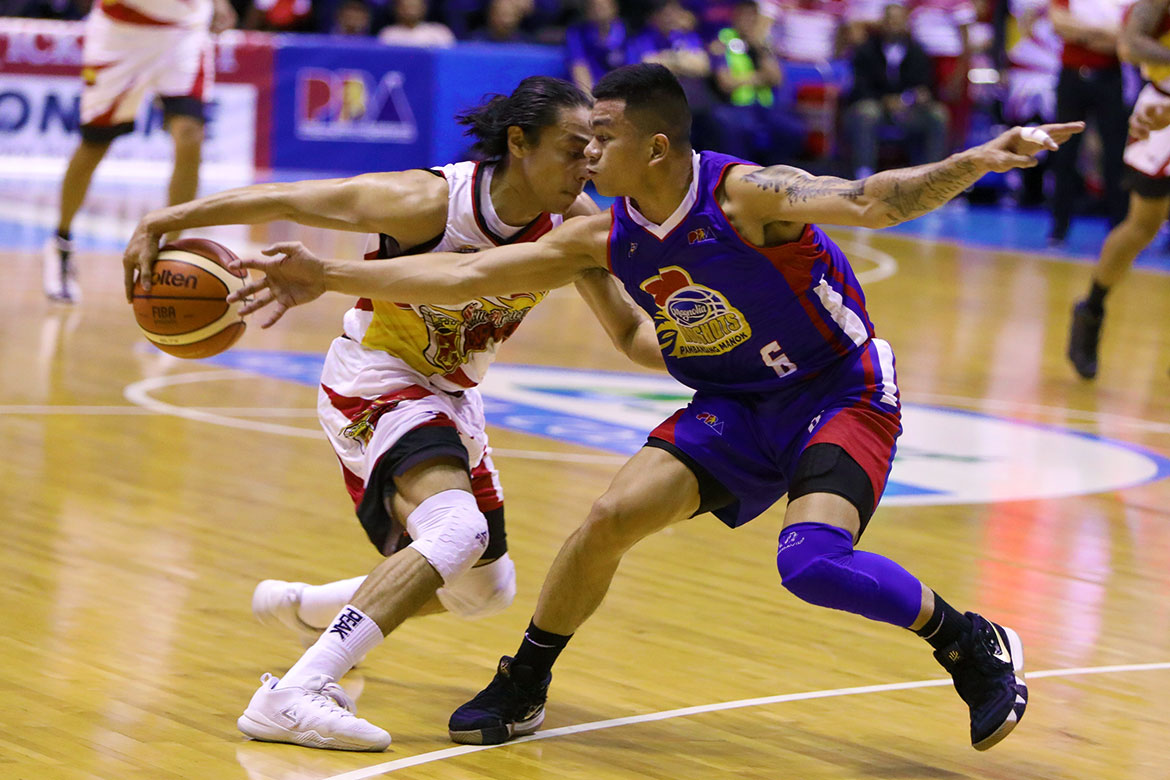 Tiebreaker Times Terrence Romeo keeps eye on the prize: 'Para makarating kami dun kailangan maging consistent ako' Basketball News PBA  Terrence Romeo San Miguel Beermen PBA Season 44 Leo Austria 2019 PBA Philippine Cup