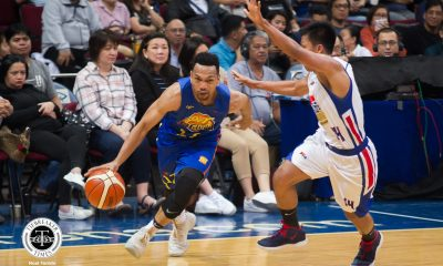 Tiebreaker Times Jayson Castro on alleged travel: 'Job na ng mga referee yun' Basketball News PBA  TNT Katropa PBA Season 44 Jayson Castro 2019 PBA Philippine Cup