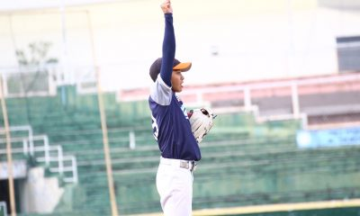 Tiebreaker Times Lexter Carandang puts on masterful performance as Adamson stifles UP AdU Baseball News UAAP UP  UP Baseball UAAP SEASON 81 Baseball UAAP Season 81 Orlando Binarao Lexter Carandang Gino Yang Anthony Dizer Adamson Baseball