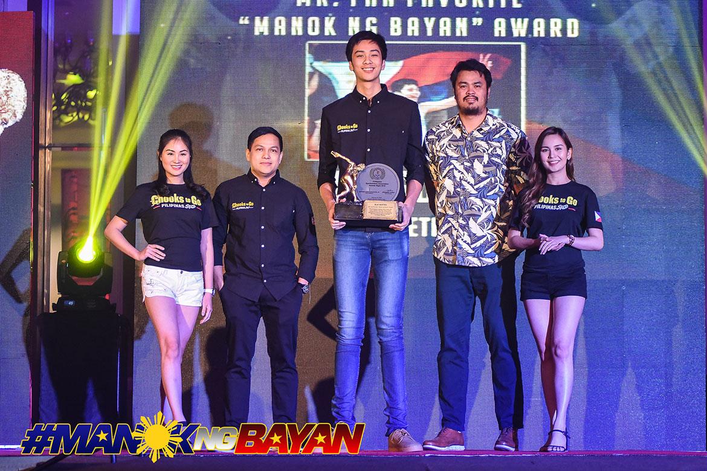 Tiebreaker Times Kai Sotto hailed as PSA's Manok ng Bayan of the Year Basketball News  Kai Sotto 2019 PSA Awards