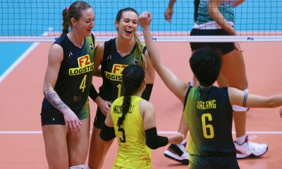Tiebreaker Times Lindsay Stalzer wants one more PSL championship before calling it a day News PSL Volleyball  Ramil De Jesus Lindsay Stalzer F2 Logistics Cargo Movers 2019 PSL Season 2019 PSL Grand Prix