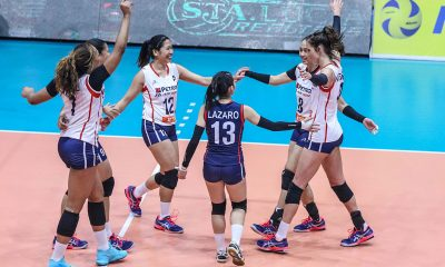 Tiebreaker Times Stephanie Niemer, Petron Blaze Spikers dominate Sta. Lucia to stay perfect News PSL Volleyball  Stephanie Niemer Sta. Lucia Lady Realtors Shaq delos Santos Rhea Dimaculangan Petron Blaze Spikers Molly Lohman Kath Bell Denden Lazaro Casey Schloenlein Babes Castillo 2019 PSL Season 2019 PSL Grand Prix