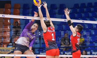 Tiebreaker Times United VC snaps Cignal HD's three-game run News PSL Volleyball  Yaasmeen Bedart-Ghani United VC Kalei Mau Joshua Ylaya Erica Wilson Edgar Barroga Cignal HD Spikers Bang Pineda Ana Artemeva Alohi Robins-Hardy 2019 PSL Season 2019 PSL Grand Prix