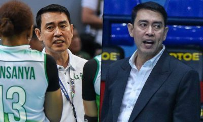 Tiebreaker Times Ramil de Jesus coaching La Salle, F2 Logistics simultaneously DLSU News PSL UAAP Volleyball  UAAP Season 81 Women's Volleyball UAAP Season 81 Ramil De Jesus F2 Logistics Cargo Movers DLSU Women's Volleyball 2019 PSL Season 2019 PSL Grand Prix