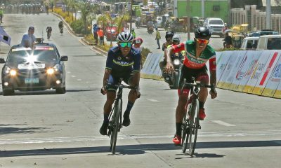 Tiebreaker Times 711-Air 21's Marcelo Felipe claims gold in Guimaras after photo finish thriller Cycling News Ronda Pilipinas  Navy-Standard Insurance Marcelo Felipe Francisco Perez (cyclist) El Joshua Carino 711 Cliqq-Air 21 2019 Ronda Pilipinas