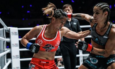 Tiebreaker Times Gina Iniong puts career on hold for family Mixed Martial Arts News ONE Championship  Team Lakay Mark Sangiao Gina Iniong