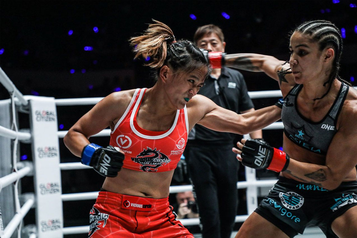 Tiebreaker Times Gina Iniong to put everything on the line come ONE: Clash of Legends Mixed Martial Arts News ONE Championship  Team Lakay ONE: Clash of Legends Gina Iniong
