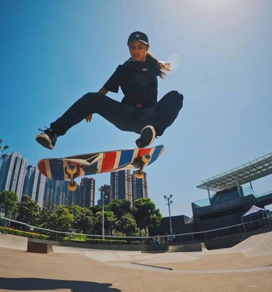 Tiebreaker Times Margie Didal, Skateboarding team begin SEA Games training News Skateboarding  Team Go for Gold Skateboarding and Roller Sports Association of the Philippines Inc Monty Mendigoria Margielyn Didal jeremy go 2019 SEA Games - Rollersports