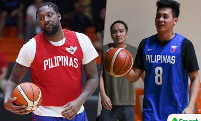 Tiebreaker Times Scottie Thompson admits being starstruck playing alongside Andray Blatche 2019 FIBA World Cup Qualifiers Basketball Gilas Pilipinas News  Yeng Guiao Scottie Thompson Gilas Elite Andray Blatche 2019 FIBA World Cup Qualifiers
