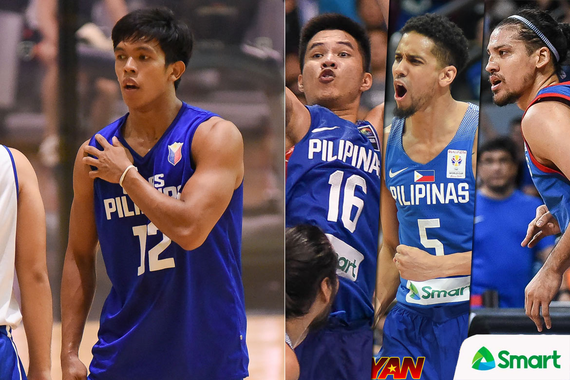 Tiebreaker Times Thirdy Ravena earns high praise from Gilas vets Pogoy, Norwood, Lassiter 2019 FIBA World Cup Qualifiers Basketball Gilas Pilipinas News  Yeng Guiao Thirdy Ravena Roger Pogoy Marcio Lassiter Gilas Elite Gabe Norwood 2019 FIBA World Cup Qualifiers