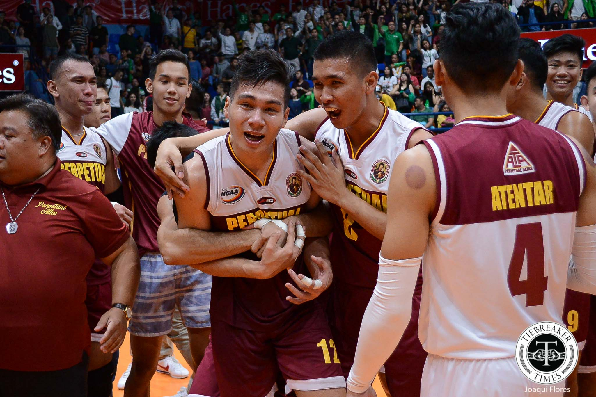 Tiebreaker Times Still not at their peak, Perpetual Altas already gunning for three-peat NCAA News UPHSD Volleyball  Sammy Acaylar Perpetual Men's Volleyball NCAA Season 94 Men's Volleyball NCAA Season 94