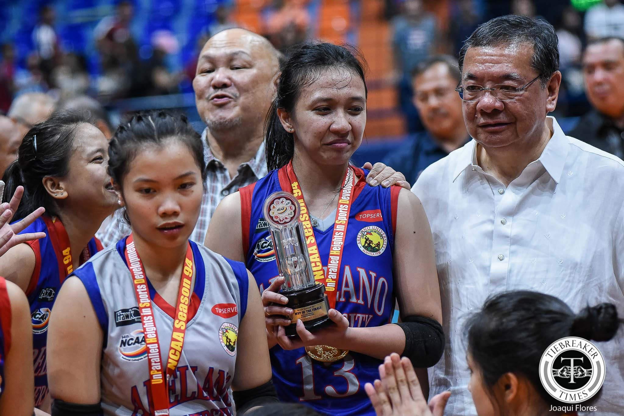 NCAA-94-Finals-G3-UPHSD-vs.-AU-Arocha-6671 Heartbroken Regine Arocha hangs Arellano Lady Chiefs jersey for good AU NCAA News Volleyball  - philippine sports news