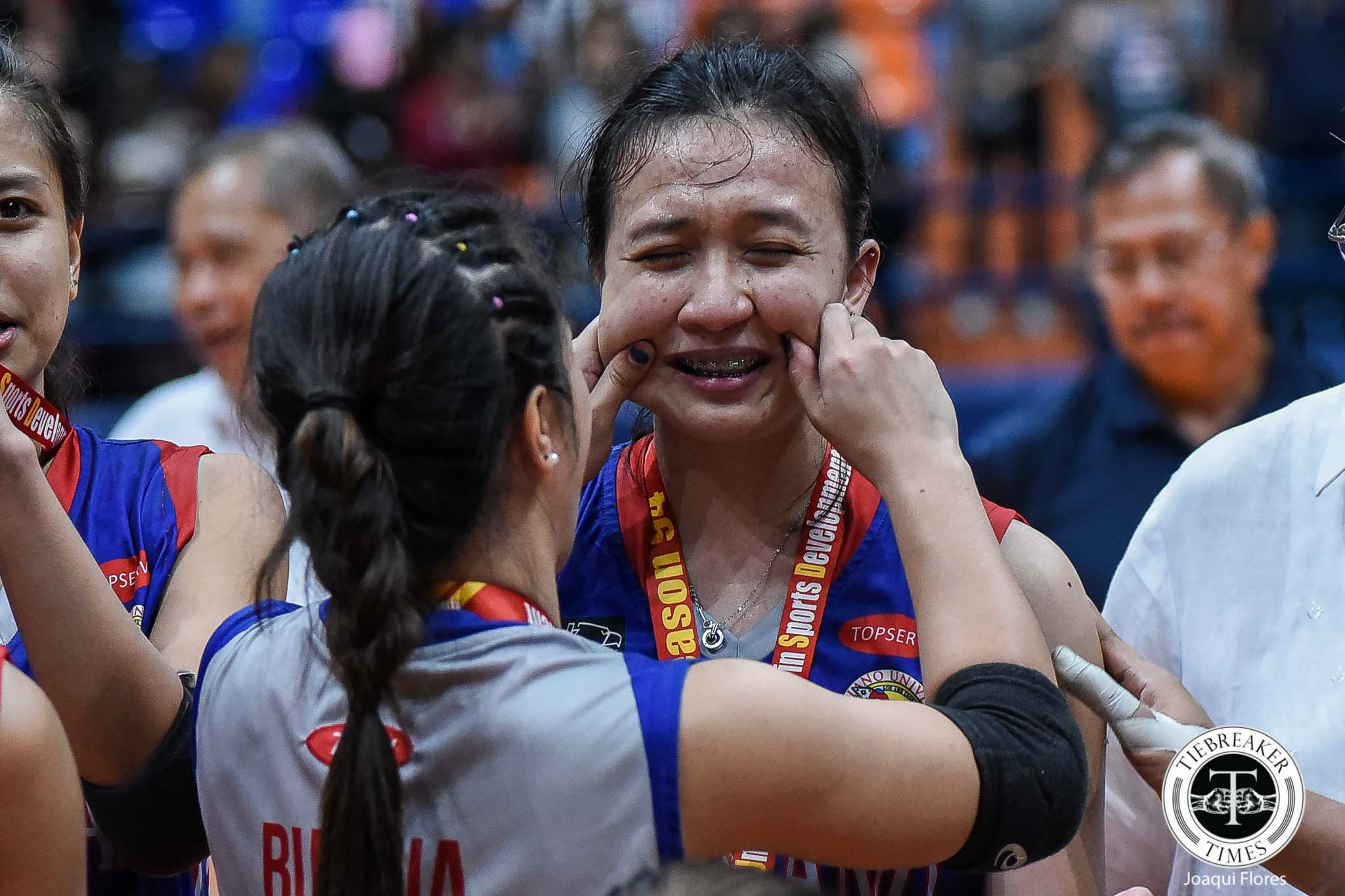Tiebreaker Times Regine Arocha, Arellano Lady Chiefs finally show killer instinct to clinch three-peat AU NCAA News Volleyball  Regine Arocha Obet Javier Necole Ebuen NCAA Season 94 Women's Volleyball NCAA Season 94 Arellano Women's Volleyball