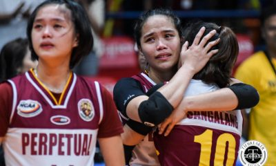 Tiebreaker Times Perpetual Lady Altas to come back stronger, guarantees Macky Cariño NCAA News UPHSD Volleyball  Perpetual Women's Volleyball NCAA Season 94 Women's Volleyball NCAA Season 94 Macky Cariño