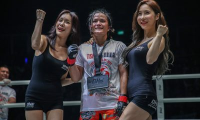 Tiebreaker Times Gina Iniong finally gets well-deserved rest Mixed Martial Arts News ONE Championship  Team Lakay ONE: Fire and Fury Gina Iniong