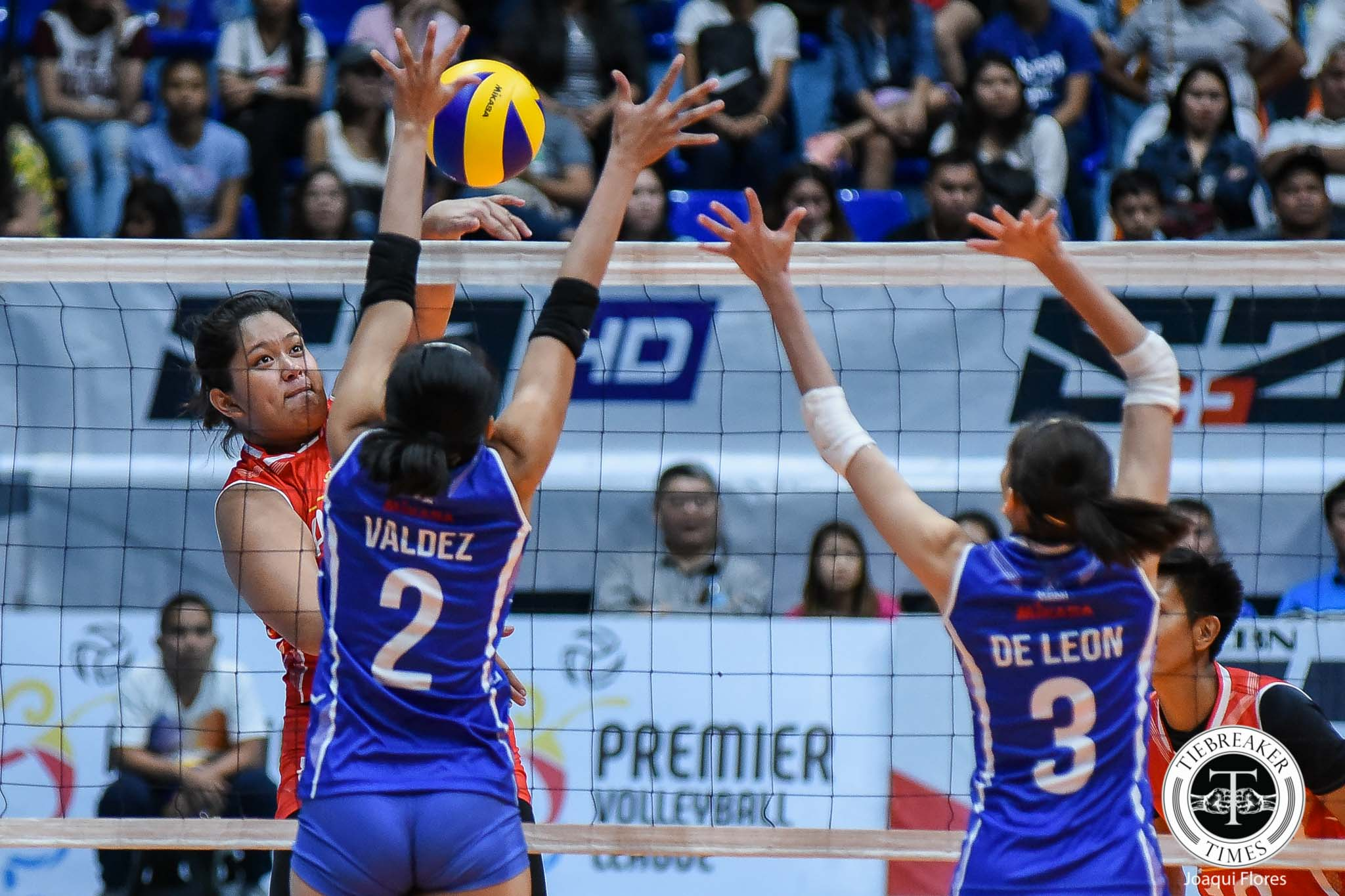 Tiebreaker Times Dimdim Pacres steals the show with impromptu dance routine News PVL Volleyball  Dimdim Pacres 2019 PVL Season