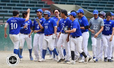 Tiebreaker Times Fausto Eizmendi has HR, 5RBIs as Ateneo blasts UP before DLSU showdown ADMU Baseball News UAAP UP  UP Baseball UAAP SEASON 81 Baseball UAAP Season 81 Miggy Angeles Martin Tan Gino Yang Gino Tantuico Gabby Yang Boc Bernardo Ateneo Baseball Anthony Dizer