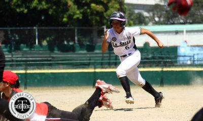 Tiebreaker Times Nica Velasco, DLSU Lady Batters pull off stunner against UE DLSU News Softball UAAP UE  UE Softball UAAP Season 81 Softball UAAP Season 81 Lalaine Cunanan Kiana juan Jasper Cabrera DLSU Softball Chinny Ejar