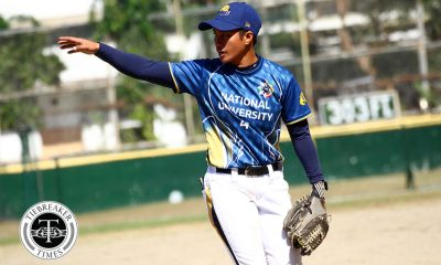 Tiebreaker Times Rookies shine as NU Lady Bulldogs bounce back at Ateneo's expense ADMU News NU Softball UAAP  UAAP Season 81 Softball UAAP Season 81 Sid Abello Roseann Banatao Pearlyjoy Lorea NU Softball Mary Ann Ramos Kevyn Lacson Joy Lasquite Ateneo Softball