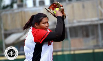 Tiebreaker Times Lourdes Blanco's clutch hit lifts UE Lady Warriors past Ateneo for 1st win ADMU News Softball UAAP UE  UE Softball UAAP Season 81 Softball UAAP Season 81 Lovely Redaja Lourdes Blanco Kevyn Lacson Joy Lasquite Jill San Juan Edzel Bacarisas Ateneo Softball