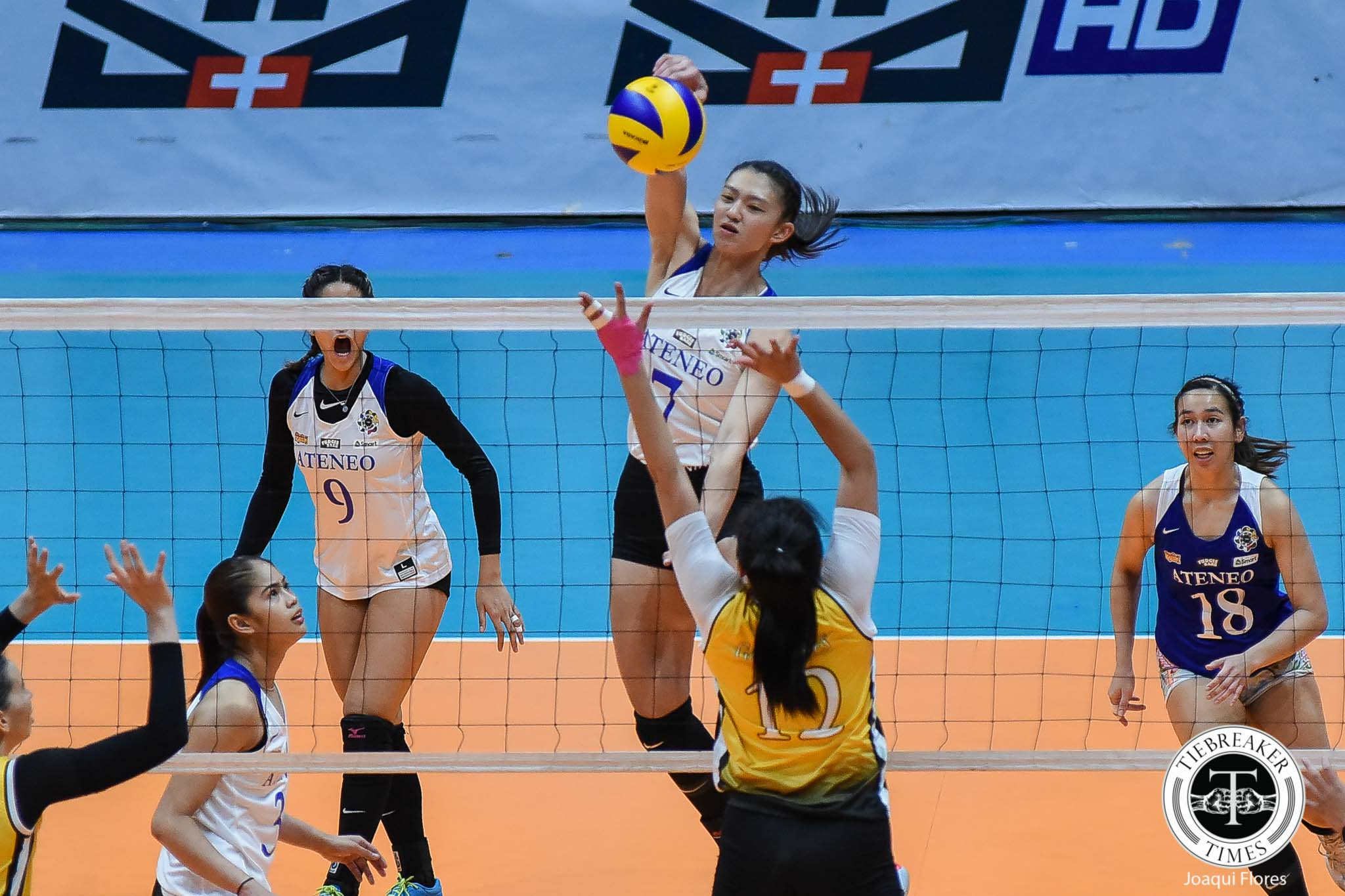 Ateneo Lady Eagles Nip Ust For First Win Tiebreaker Times