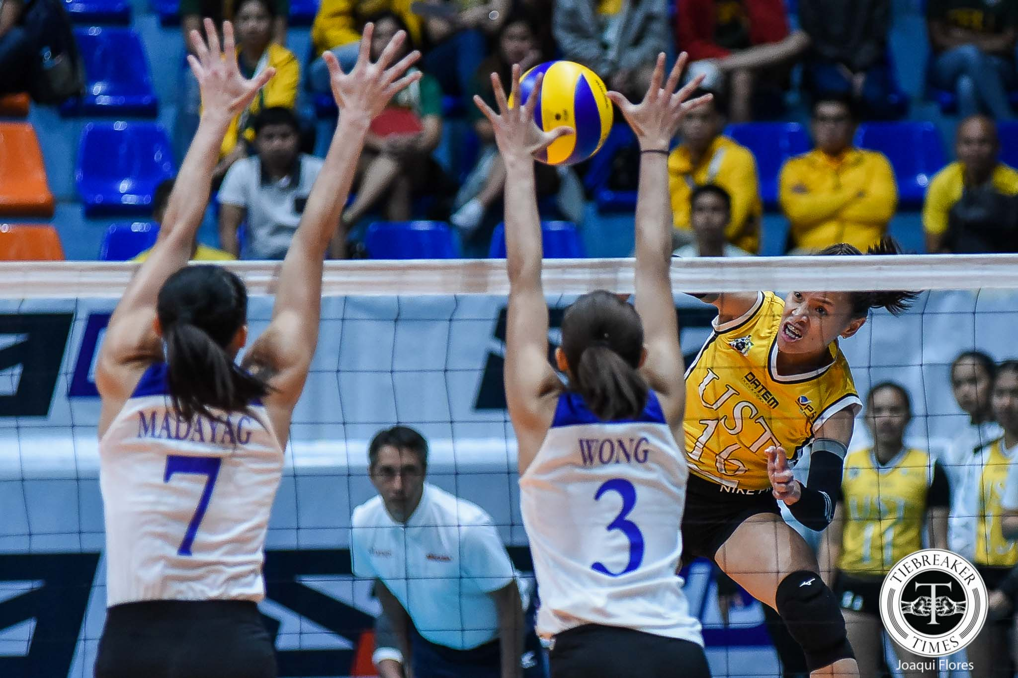Tiebreaker Times For Sisi Rondina to exit with title, she has to finally conquer Ateneo News UAAP UST Volleyball  UST Women's Volleyball UAAP Season 81 Women's Volleyball UAAP Season 81 Cherry Rondina