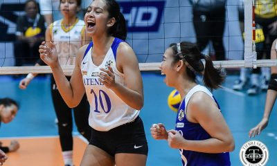 Tiebreaker Times Chooks-to-Go/UAAP POW Kat Tolentino now knows how to utilize her power ADMU News UAAP Volleyball  UAAP Season 81 Women's Volleyball UAAP Season 81 UAAP Player of the Week Kat Tolentino Chooks-to-Go Ateneo Women's Volleyball