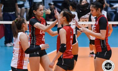 Tiebreaker Times UE Lady Warriors pick up first win at Adamson's expense AdU News UAAP UE Volleyball  UE Women's Volleyball UAAP Season 81 Women's Volleyball UAAP Season 81 Nikka Yandoc Mary Anne Mendrez Kath Arado Karl Dimculangan Judith Abil Eli Soyud Bernadette Flora Air Padda Adamson Women's Volleyball