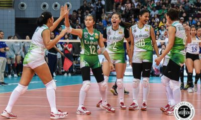 Tiebreaker Times Des Cheng has opposing crowds right where she wants them DLSU News UAAP Volleyball  UAAP Season 81 Women's Volleyball UAAP Season 81 DLSU Women's Volleyball Des Cheng