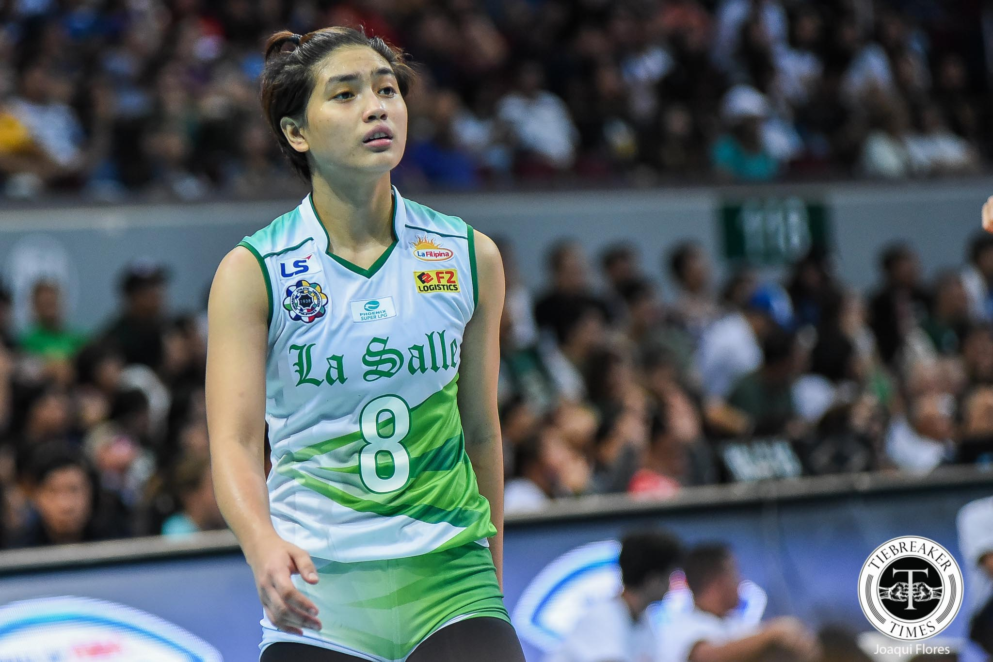 Tiebreaker Times DLSU rookie Jolina Dela Cruz comes out of nowhere to make immediate impact DLSU News UAAP Volleyball  UAAP Season 81 Women's Volleyball UAAP Season 81 Ramil De Jesus Jolina Dela Cruz DLSU Women's Volleyball