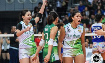 Tiebreaker Times May Luna glad to have earned first start in four years with La Salle DLSU News UAAP Volleyball  UAAP Season 81 Women's Volleyball UAAP Season 81 May Luna DLSU Women's Volleyball