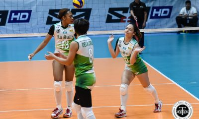Tiebreaker Times With no 'go-to guy', DLSU Lady Spikers look for balance, says Michelle Cobb DLSU News UAAP Volleyball  UAAP Season 81 Women's Volleyball UAAP Season 81 Ramil De Jesus Michelle Cobb DLSU Women's Volleyball