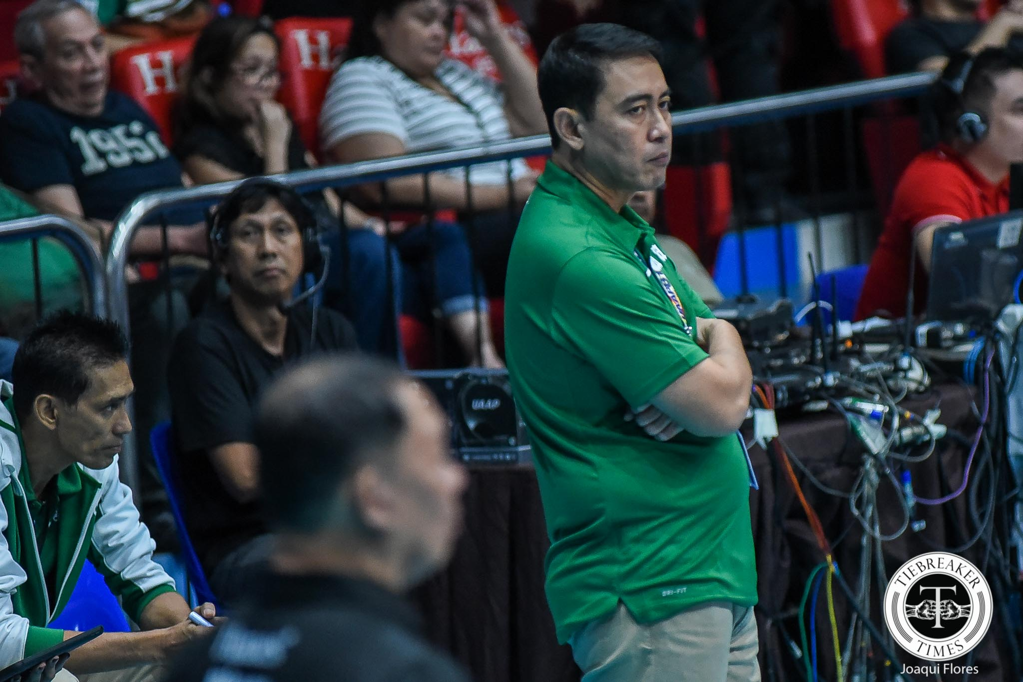 Tiebreaker Times No panic for Ramil De Jesus after UP loss: 'Mas ginusto nila manalo' DLSU News UAAP Volleyball  UAAP Season 81 Women's Volleyball UAAP Season 81 Ramil De Jesus DLSU Women's Volleyball