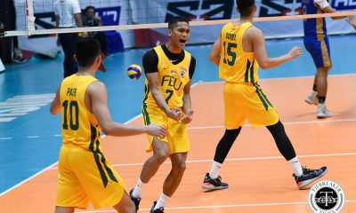Tiebreaker Times FEU Tamaraws send early statement, shut down defending champ NU FEU News NU UAAP Volleyball  UAAP Season 81 Men's Volleyball UAAP Season 81 Richard Solis Rey Diaz Owen Suarez NU Men's Volleyball JP Bugaoan Jeremiah Barrica FEU Men's Volleyball Dante Alinsunurin Bryan Bagunas
