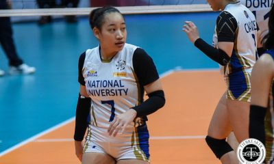 Tiebreaker Times Now light on her feet and power-lifting, Cess Robles taking UAAP by storm News NU UAAP Volleyball  UAAP Season 81 Women's Volleyball UAAP Season 81 Princess Robles NU Women's Volleyball