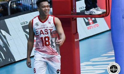 Tiebreaker Times UE Red Warriors start UAAP Season 81 by ending 20-game skid News UAAP UE UP Volleyball  Victor Turing IV UP Men's Volleyball UE Men's Volleyball UAAP Season 81 Men's Volleyball UAAP Season 81 Niccolo Consuelo Mark Millete Lloyd Josafat Hans Chuacuco Clifford Inoferio Aldwin Solis Adrian Imperial