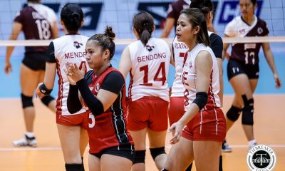 Tiebreaker Times Even with iron-clad plan to avoid her, UP still goes through Kath Arado's gauntlet News UAAP UE Volleyball  UE Women's Volleyball UAAP Season 81 Women's Volleyball UAAP Season 81 Tots Carlos Kath Arado Godfrey Okumu