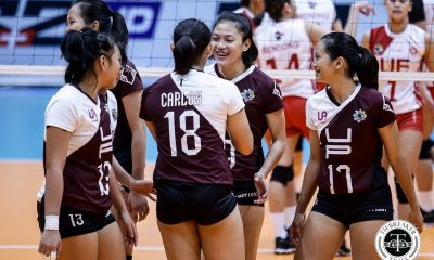 Tiebreaker Times Chooks-to-Go POW Isa Molde embraces pressure brought by UP's pre-season success News UAAP UP Volleyball  UP Women's Volleyball UAAP Season 81 UAAP Player of the Week Isa Molde Chooks-to-Go