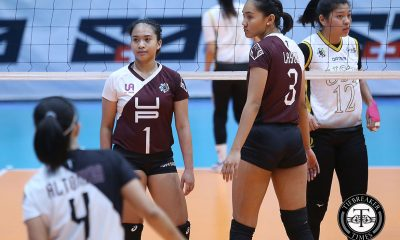 Tiebreaker Times Marianne Sotomil braves through first-ever UAAP start News UAAP UP Volleyball  UP Women's Volleyball UAAP Season 81 Women's Volleyball UAAP Season 81 Marianne Sotomil