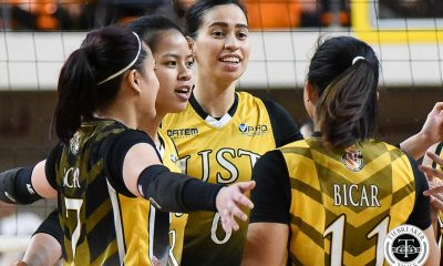 Tiebreaker Times Eya Laure, UST Tigresses keeping Alessandrini in mind as UAAP 82 prep revs up News UAAP UST Volleyball  UST Women's Volleyball UAAP Season 82 Women's Volleyball UAAP Season 82 Milena Alessandrini Eya Laure