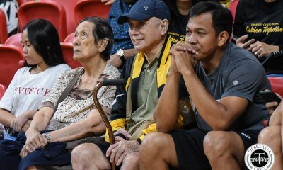 Tiebreaker Times Legendary August Sta. Maria graces alumni match News UST Volleyball  UST Women's Volleyball Shaq delos Santos Ging Balse August Sta. Maria