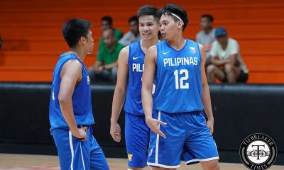 Tiebreaker Times Gilas obliterate Meralco in sole tune-up before 6th window 2019 FIBA World Cup Qualifiers Basketball Gilas Pilipinas News  Yeng Guiao Troy Rosario Roger Pogoy Reynel Hugnatan Ranidel De Ocampo Norman Black Nico Salva Meralco Bolts Marcio Lassiter June Mar Fajardo Gilas Elite Baser Amer