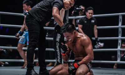 Tiebreaker Times Mark Abelardo looks to raise PH flag come ONE: No Surrender Mixed Martial Arts Muay Thai News ONE Championship  Yodsanklai IWE Fairtex Rodtang Jitmuangnon Petchmorakot Petchyindee Academy Petchdam Petchyindee Academy ONE: No Surrender Mark Abelardo Fabricio Andrade