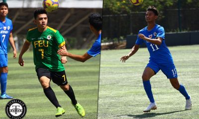 Tiebreaker Times Jarvey Gayoso urges FEU rookie Gio Pabualan: 'I know he could be part of the SEA Games' ADMU FEU Football News UAAP  UAAP Season 81 Men's Football UAAP Season 81 Jarvey Gayoso Gio Pabualan FEU Men's Football Ateneo Men's Football