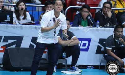 Tiebreaker Times Defiant Oliver Almadro urges: 'Don't count us out' ADMU News UAAP Volleyball  UAAP Season 81 Women's Volleyball UAAP Season 81 Ponggay Gaston Oliver Almadro Jules Samonte Ateneo Women's Volleyball