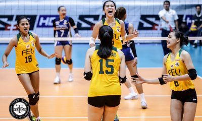 Tiebreaker Times No pressure for FEU's new number 2 Lycha Ebon to follow Pons' footsteps FEU News UAAP Volleyball  UAAP Season 81 Women's Volleyball UAAP Season 81 Lycha Ebon George Pascua FEU Women's Volleyball