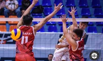 Tiebreaker Times Bryan Bagunas, NU Bulldogs regain footing after drubbing UE News NU UAAP UE Volleyball  Victorio Turing UE Men's Volleyball UAAP Season 81 Men's Volleyball UAAP Season 81 Ricky Marcos NU Men's Volleyball Nico Almendras Joshua Retamar Dante Alinsunurin Clifford Inoferio Bryan Bagunas